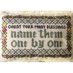 COUNT YOUR MANY BLESSINGS Lindy Stitches