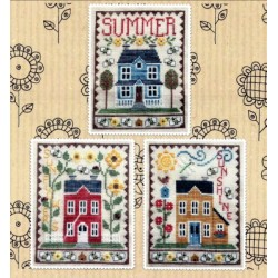 SUMMER HOUSE TRIO Waxing Moon Designs