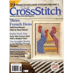 JUST CROSS STITCH MAGAZINE JUNE 2019 Just Cross Stitch