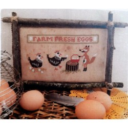 FARM FRESH EGGS Fairy Wool In The Wood