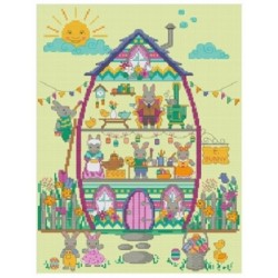 EASTER BUNNY HOUSE THE EASTER BUNNY PART 4 Tiny Modernist