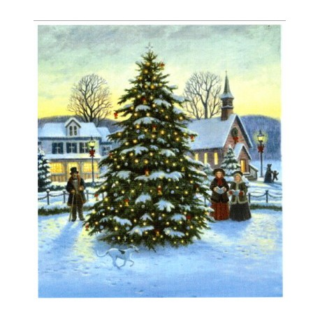 TOWN CHRISTMAS TREE Heaven and Earth Designs