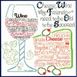 LETS SHARE WINE AND CHEESE Imaginating
