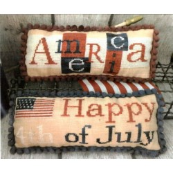 AMERICA AND 4TH OF JULY PILLOWS Mani di Donna
