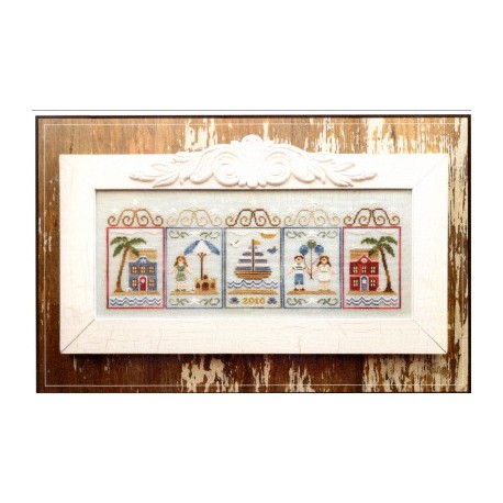 SUMMER SEASCAPE Country Cottage Needleworks