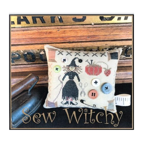 SEW WITCHY The Scarlett House