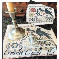COVERLET CANDLE MAT The Scarlett House