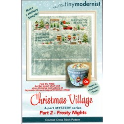 CHRISTMAS VILLAGE FROSTY NIGHTS PART 2 Tiny Modernist