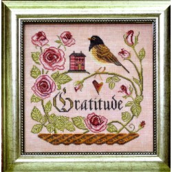 HEART FULL OF GRATITUDE The Songbirds Garden Series 12 Cottage Garden
