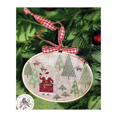 SANTAS TREE FARM CS265 With Thy Needle and Thread
