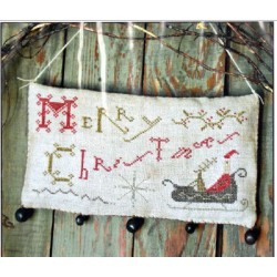 MERRY CHRISTMAS HANGING SAMPLER Pineberry Lane