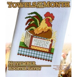 TOWELS OF THE MONTH NOVEMBER ROOSTER HAVEN Stoney Creek Collection