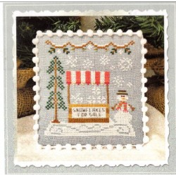 SNOW VILLAGE SNOWFLAKE STAND Country Cottage Needleworks