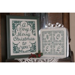 1 COLOR CHRISTMAS GREETINGS Waxing Moon Designs