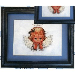Angel Eyes Cody Country Crossstitch