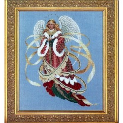 Angel of Christmas Lavender and Lace