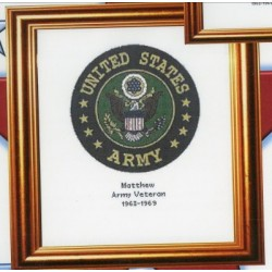 Army Seal Cody Country Crossstitch