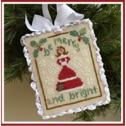 BE MERRY Country Cottage Needleworks