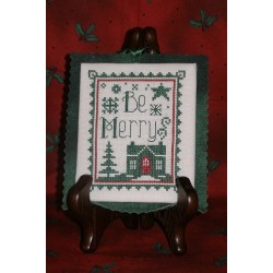 BE MERRY MINI Waxing Moon Designs