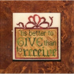 BETTER TO GIVE Erica Michaels Needleart