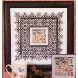 BLACK LACE SAMPLER Rosewood Manor