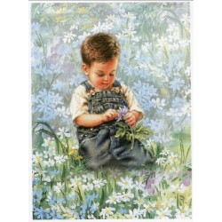 Boy With Daisies HAED 205