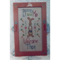 BUNNY WELCOME Waxing Moon Designs OOP