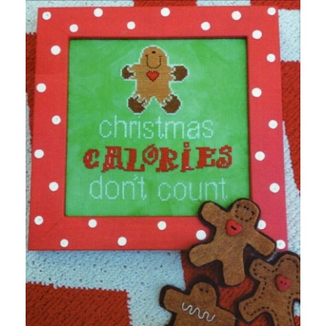 CHRISTMAS CALORIES DONT COUNT WITH EMB Amy Bruecken Designs