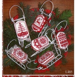 Christmas in Red Sue Hillis Designs