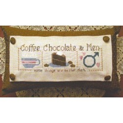 COFFEE CHOCOLATE and MEN Waxing Moon Designs