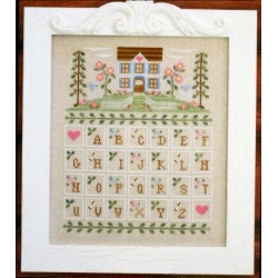 COTTAGE ALPHABET Country Cottage Needleworks