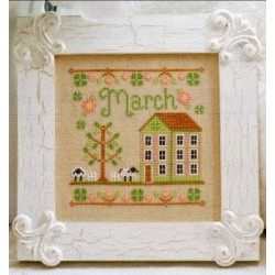 COTTAGE OF THE MONTH MARCH Country Cottage Needleworks