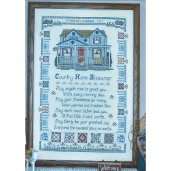 Country Home Blessing LF75 Designs by Linda Myers
