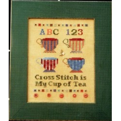 Cross Stitch is My Cup of Tea SBF8 Sisters and Best Friends