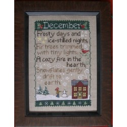 DECEMBER SAMPLER Waxing Moon Designs