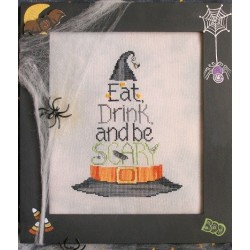 EAT DRINK AND BE SCARY Waxing Moon Designs
