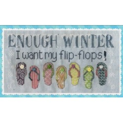 Enough Winter Waxing Moon Designs