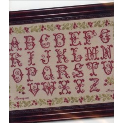 French Alphabet Sampler JBW Designs