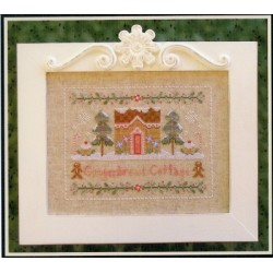 GINGERBREAD COTTAGE Country Cottage Needleworks