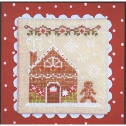 GINGERBREAD VILLAGE GINGERBREAD HOUSE 2 Country Cottage Needleworks