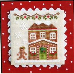 GINGERBREAD VILLAGE GINGERBREAD HOUSE 5 Country Cottage Needleworks