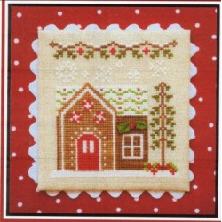 GINGERBREAD VILLAGE GINGERBREAD HOUSE 6 Country Cottage Needleworks