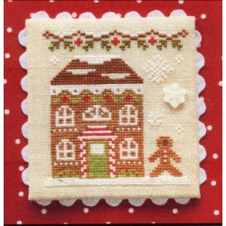 GINGERBREAD VILLAGE GINGERBREAD HOUSE 8 Country Cottage Needleworks