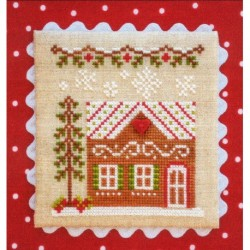 GINGERBREAD VILLAGE GINGERBREAD HOUSE 7 Country Cottage Needleworks