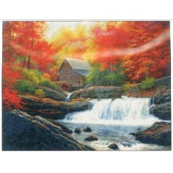 Glade Creek Grist Mill Shinysuns Cross Stitching