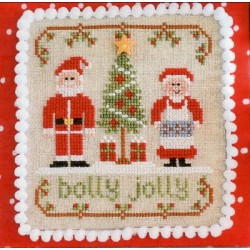 HOLLY JOLLY Country Cottage Needleworks