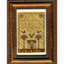 HOME IN THE AUTUMN Erica Michaels Needleart