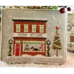 HOMETOWN HOLIDAY SERIES 5 TOY STORE Little House Needleworks