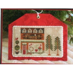 HOMETOWN HOLIDAY SERIES 8 THE FLORIST Little House Needleworks
