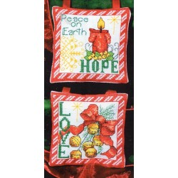 Hope Love Ornaments Bobbie G Designs